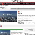 NHK WORLD「#TOKYO